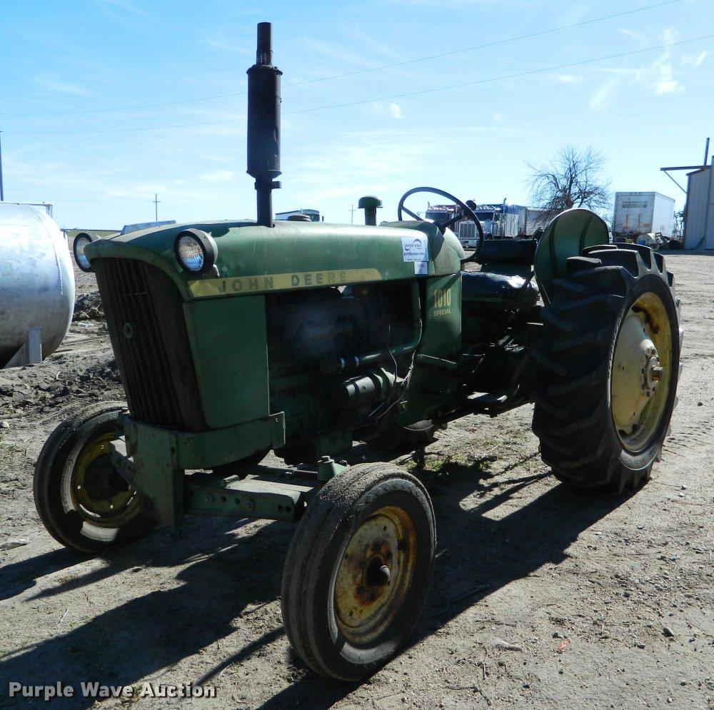 medium resolution of john deere 1010 tractor item db1172 sold december 27 ag mix db1172 image for item