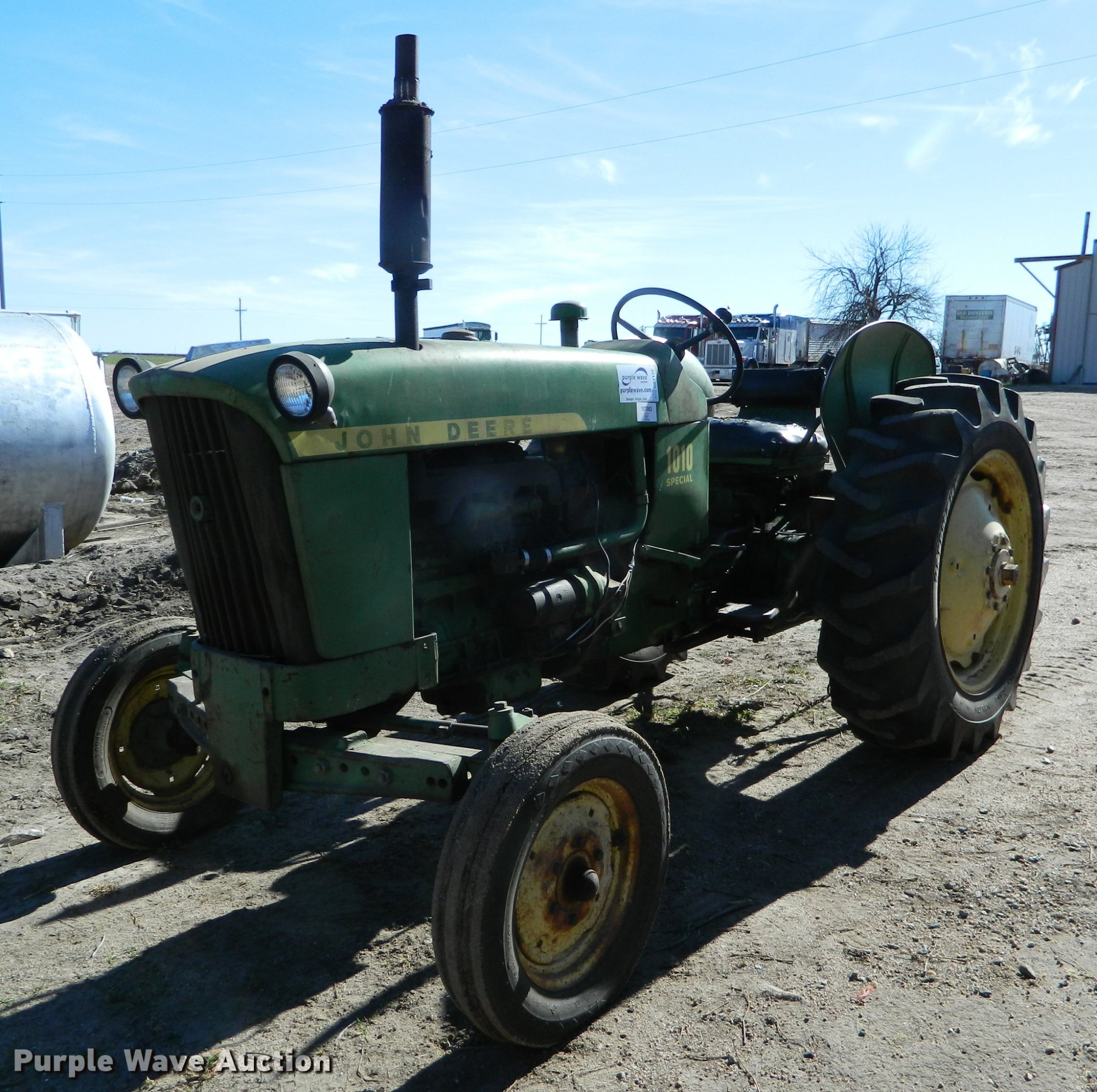 hight resolution of john deere 1010 tractor item db1172 sold december 27 ag mix db1172 image for item