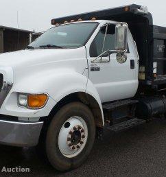 dc5727 image for item dc5727 2006 ford f650 super duty xl dump truck [ 2048 x 1352 Pixel ]