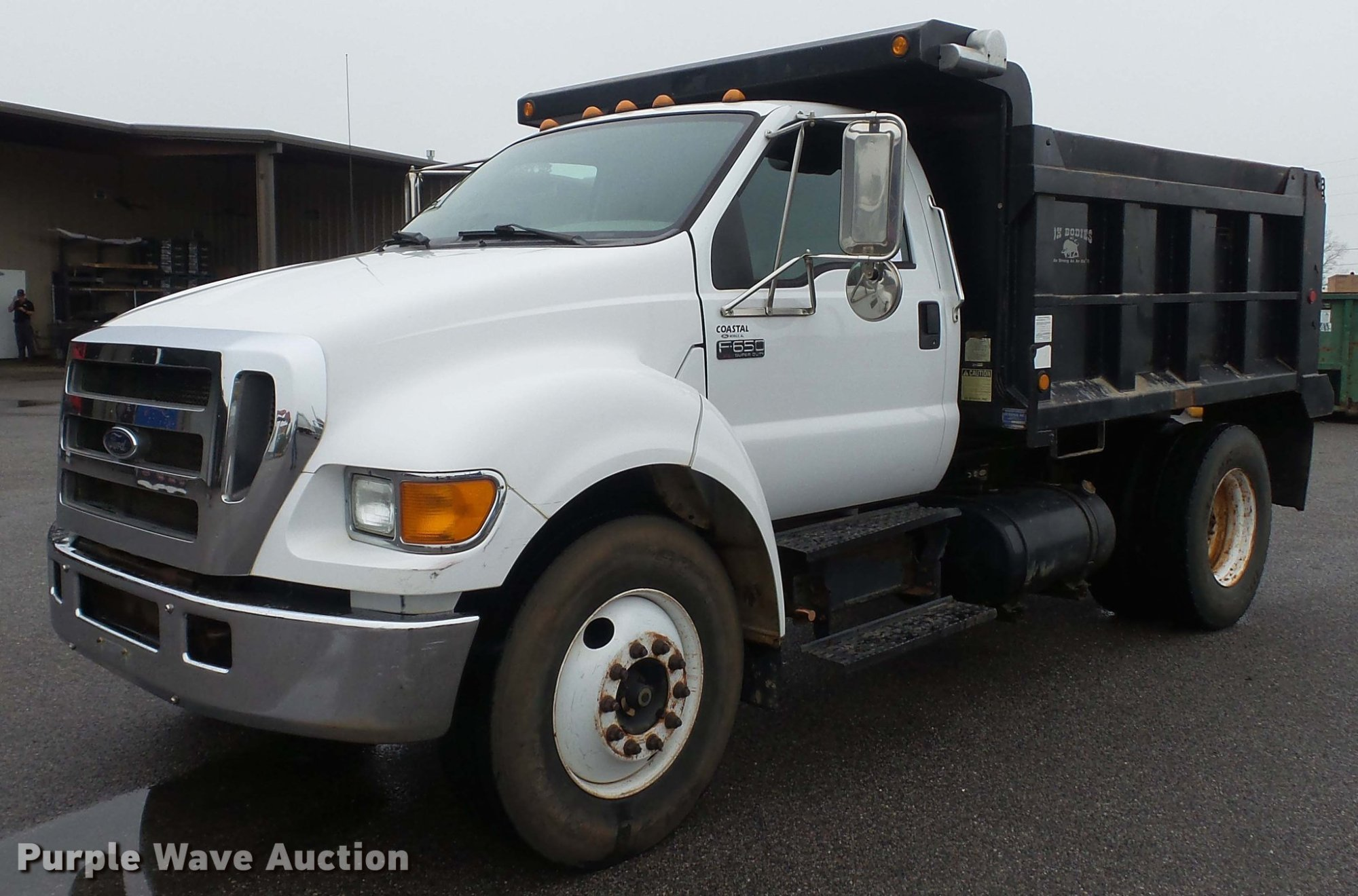 hight resolution of dc5727 image for item dc5727 2006 ford f650 super duty xl dump truck