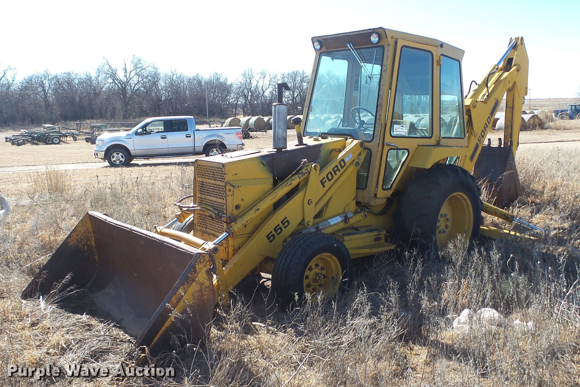 hight resolution of ford 555 backhoe item dc5696 sold february 21 vehicles ford 555 backhoe parts list