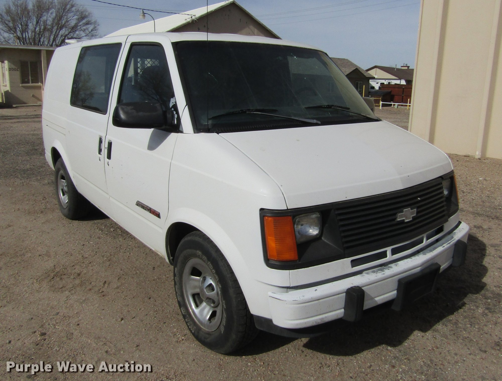 hight resolution of dc8263 image for item dc8263 1992 chevrolet astro cargo ext van