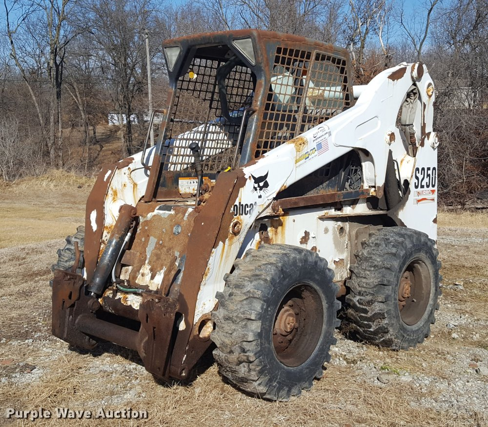 medium resolution of dd5434 image for item dd5434 2002 bobcat s250 skid steer