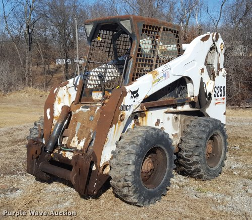 small resolution of dd5434 image for item dd5434 2002 bobcat s250 skid steer