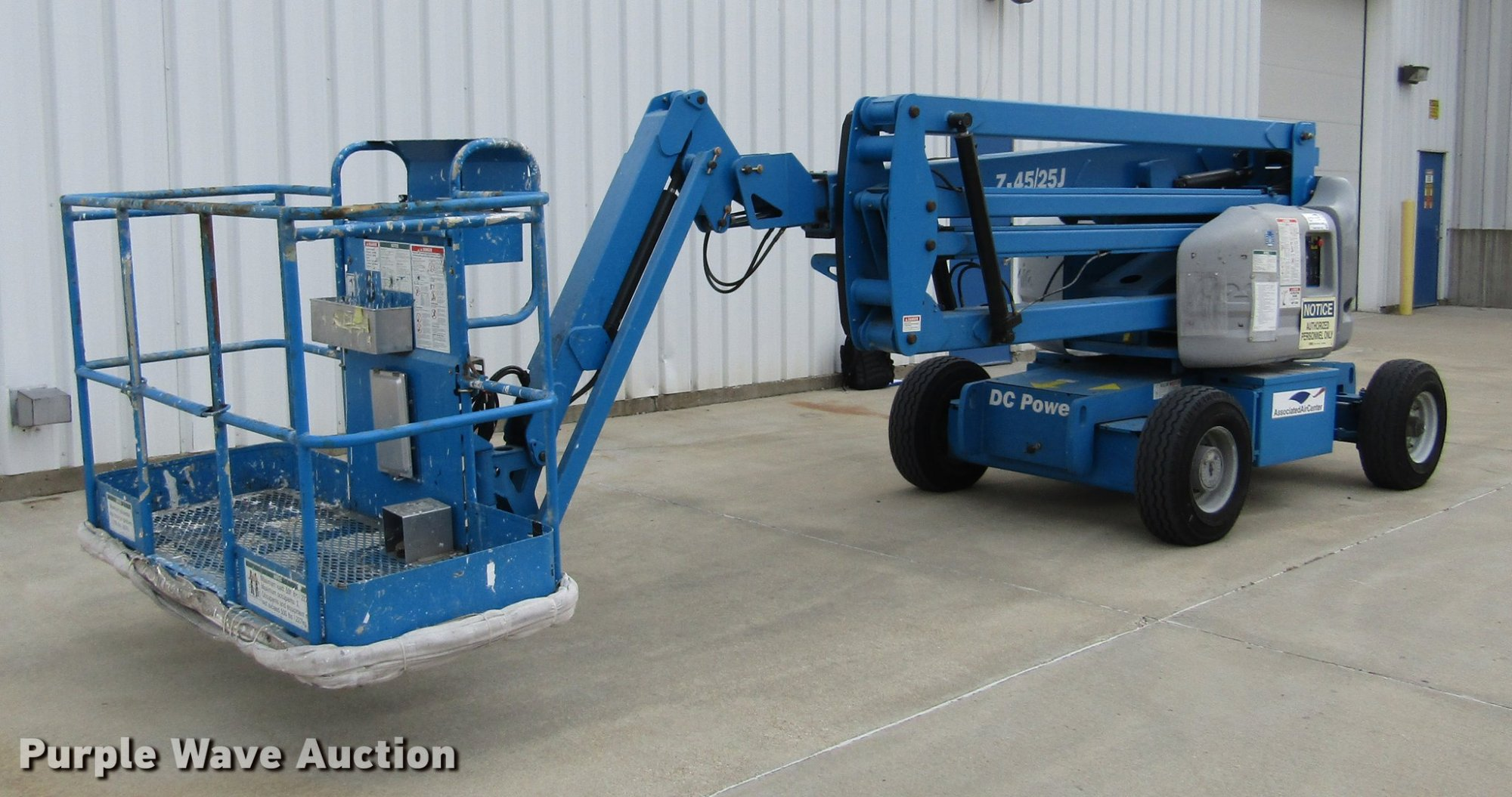 hight resolution of dd2748 image for item dd2748 2005 genie z45 25 boom lift