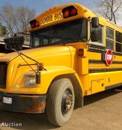 dd2878 image for item dd2878 1999 freightliner fs65 blue bird school bus [ 2048 x 1352 Pixel ]
