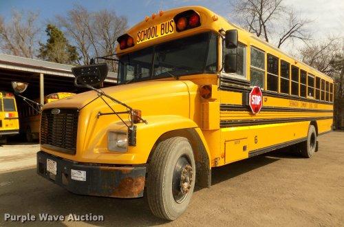 small resolution of dd2878 image for item dd2878 1999 freightliner fs65 blue bird school bus