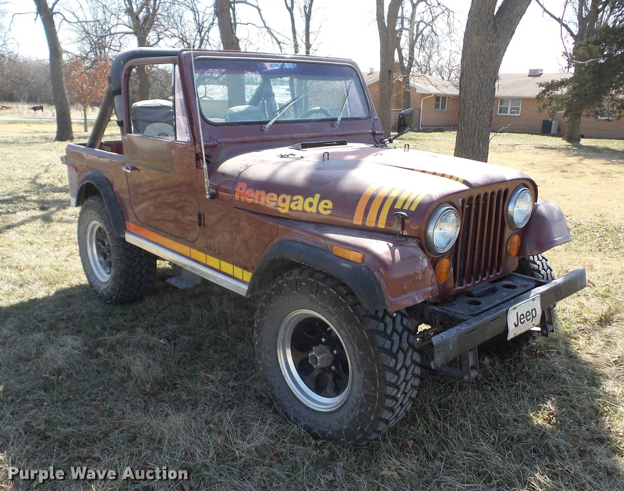hight resolution of  1980 jeep cj7 renegade full size in new window