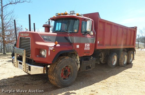 small resolution of mack dump truck trailer wiring wiring diagram blog1989 mack dm690s dump truck item de3605 sold