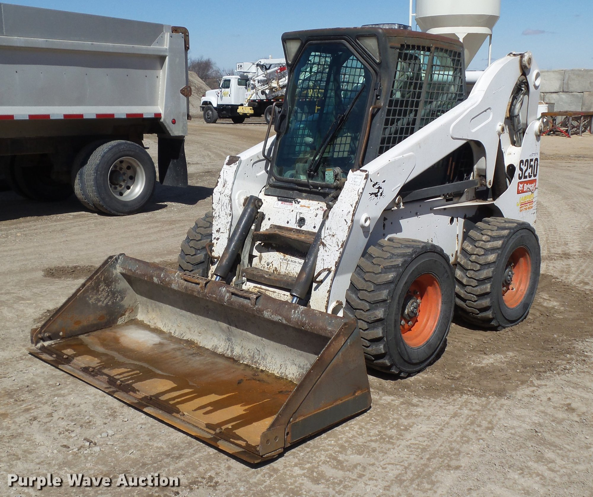 hight resolution of 2007 bobcat s250 skid steer for sale in iowa
