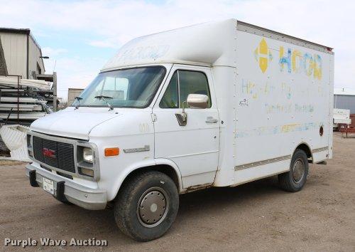 small resolution of dc7627 image for item dc7627 1992 gmc vandura g3500 van