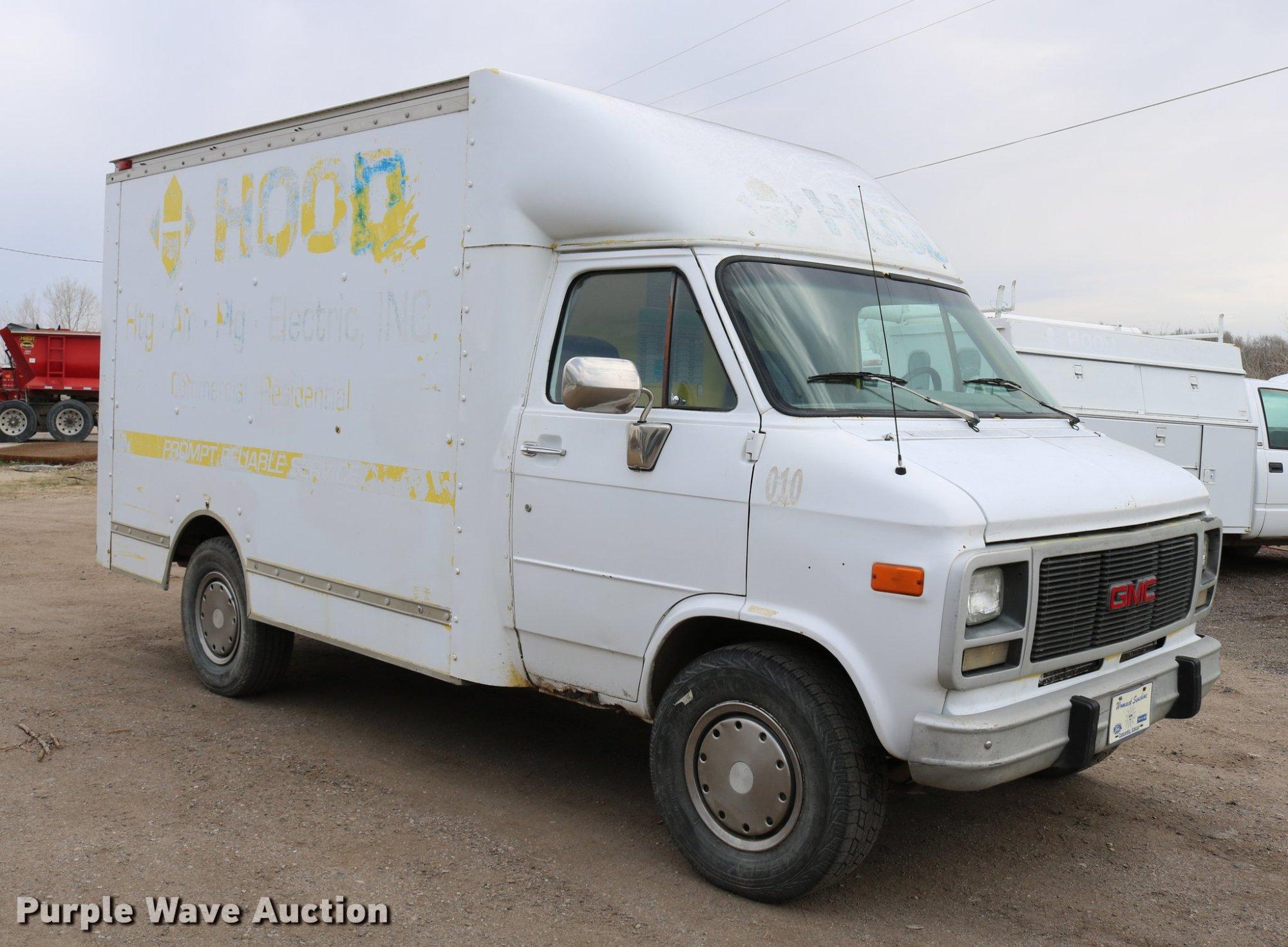 hight resolution of  1992 gmc vandura g3500 van full size in new window