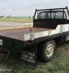 1987 gmc sierra r2500 flatbed pickup truck full size in new window  [ 2048 x 1316 Pixel ]