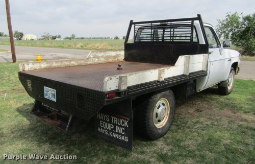 small resolution of  1987 gmc sierra r2500 flatbed pickup truck full size in new window