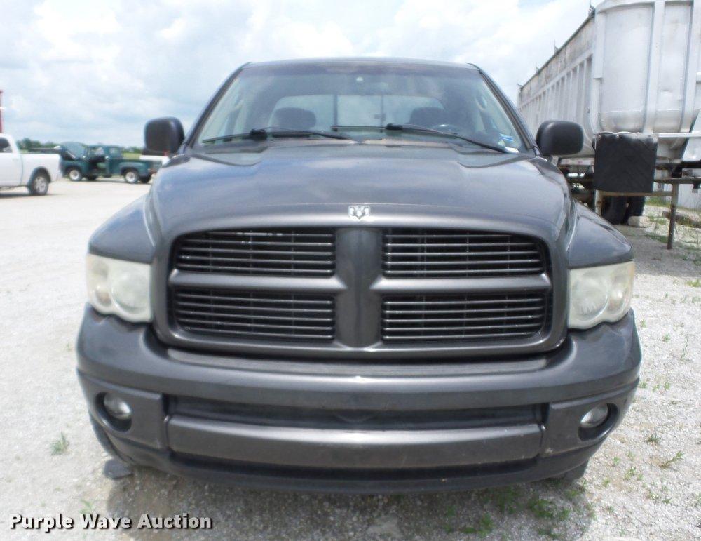 medium resolution of  2004 dodge ram 1500 quad cab pickup truck full size in new window