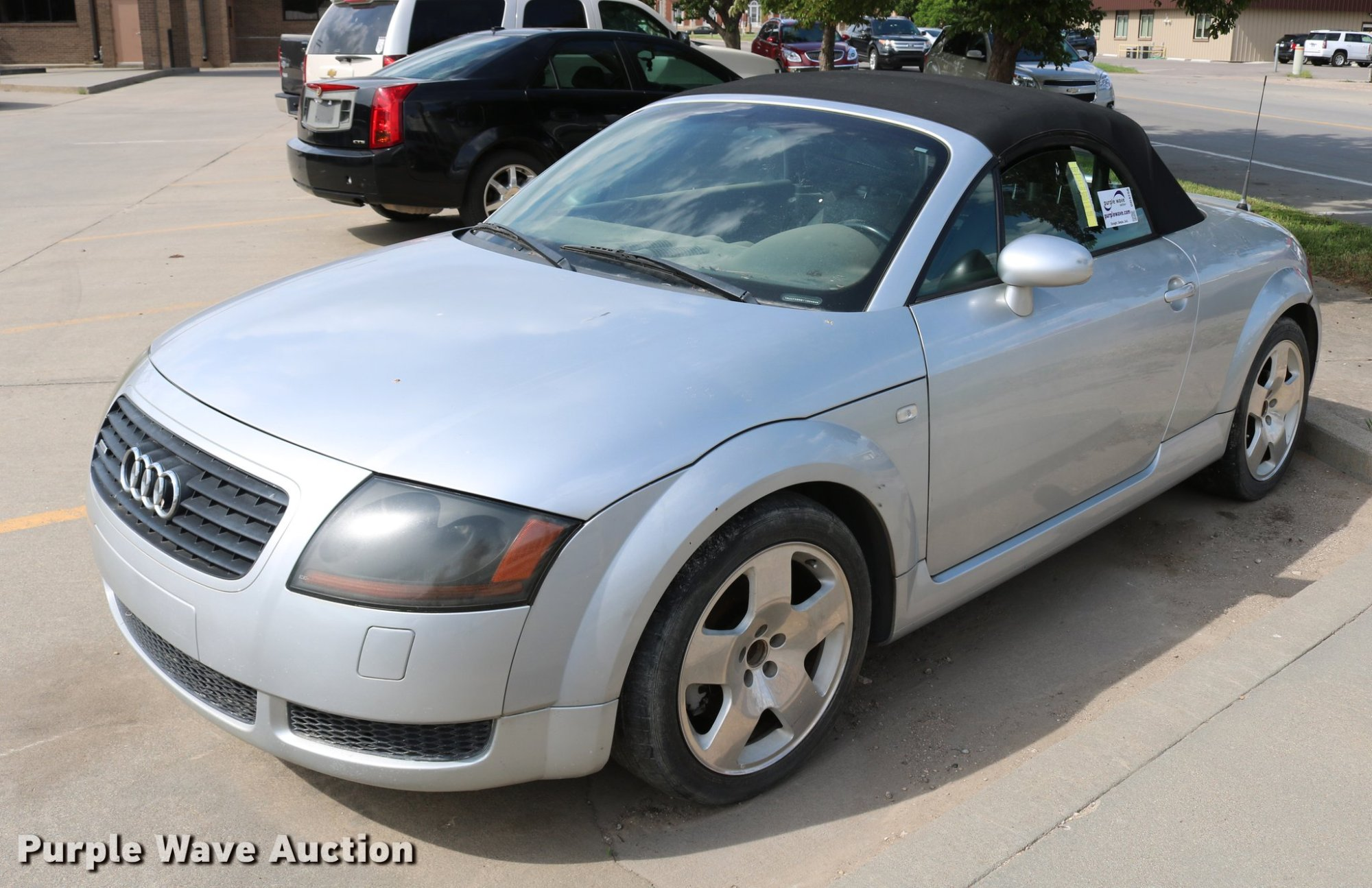 hight resolution of dd4258 image for item dd4258 2001 audi tt roadster quattro convertible