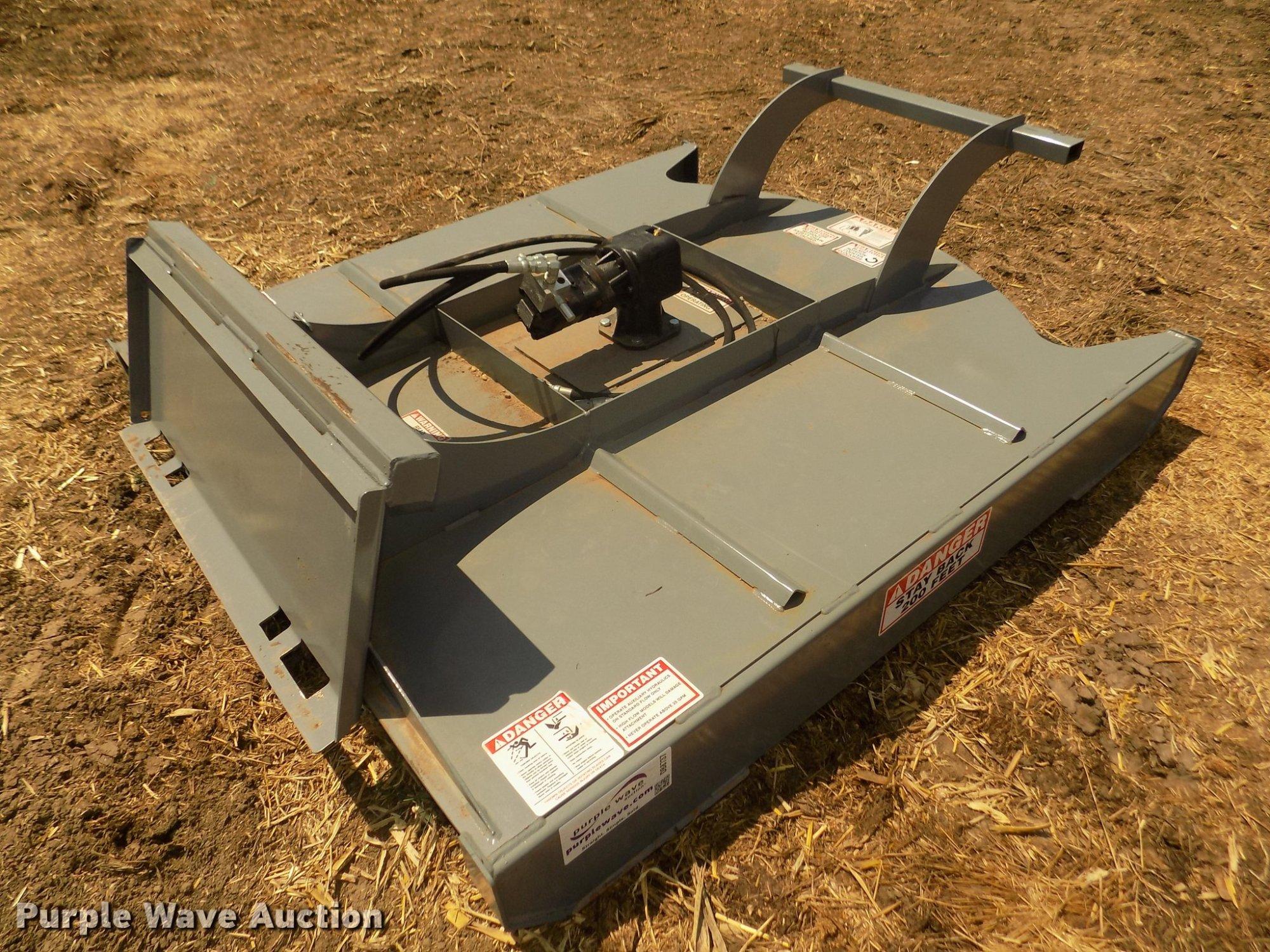 hight resolution of db8737 image for item db8737 2018 hawz skid steer brush cutter