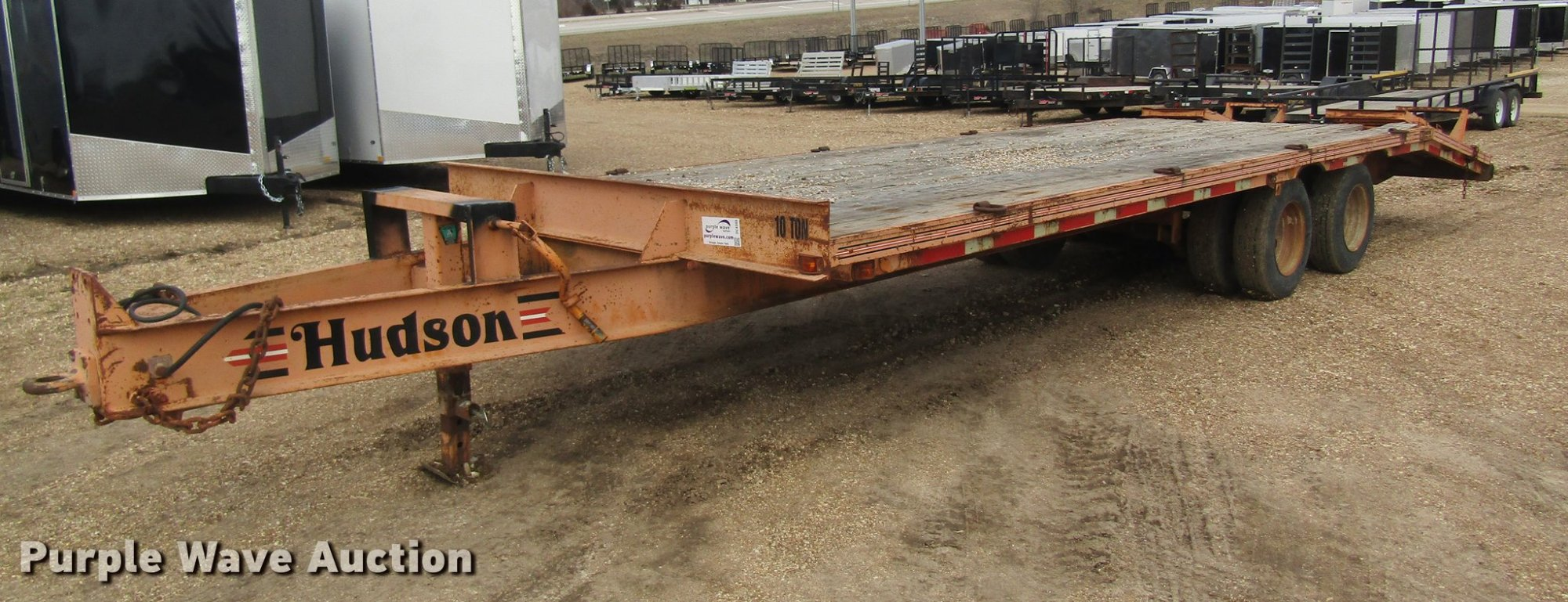 hight resolution of dc4365 image for item dc4365 1999 hudson equipment trailer
