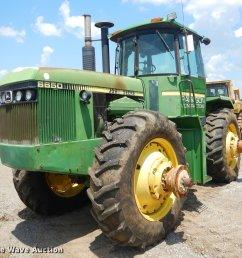 schematics john deere 8650 4wd tractor item ek9593 sold august 30  [ 2048 x 1800 Pixel ]