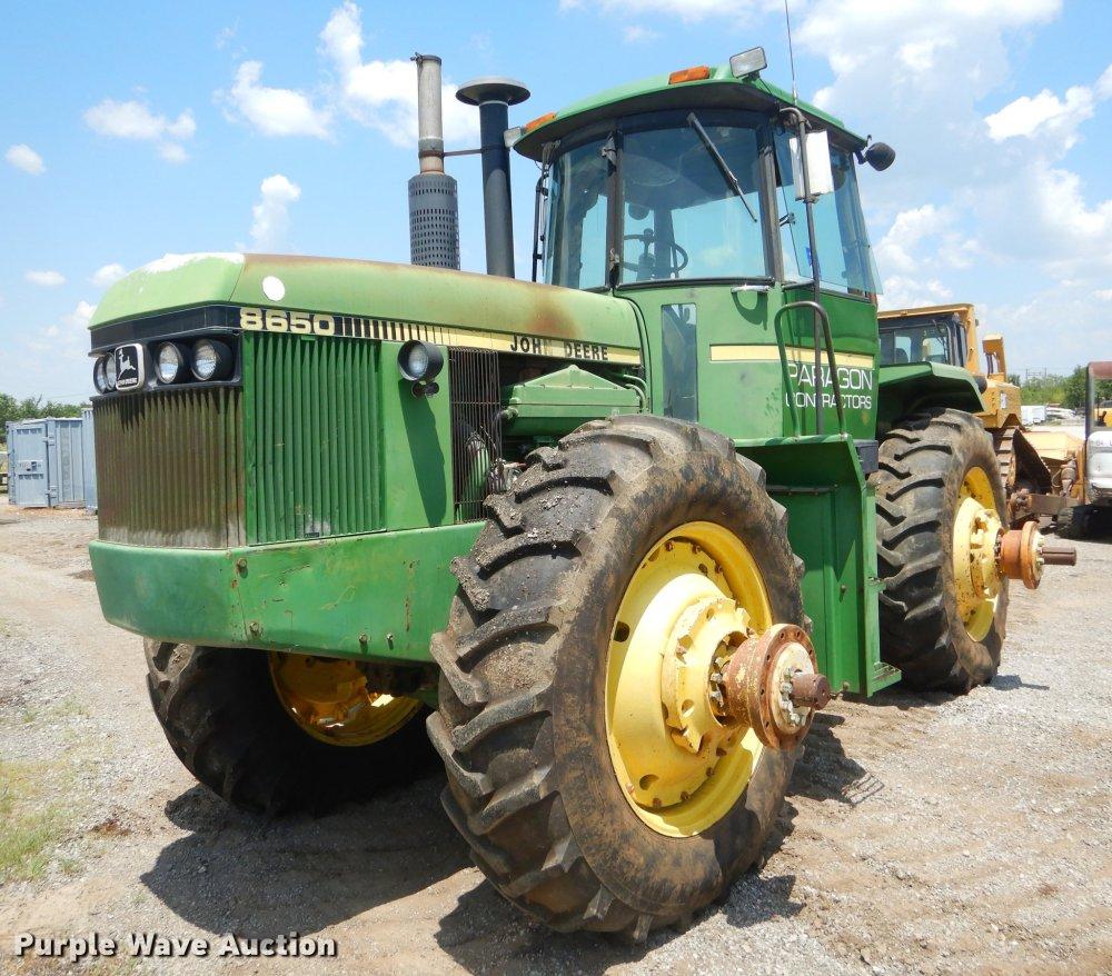medium resolution of  schematics john deere 8650 4wd tractor item ek9593 sold august 30