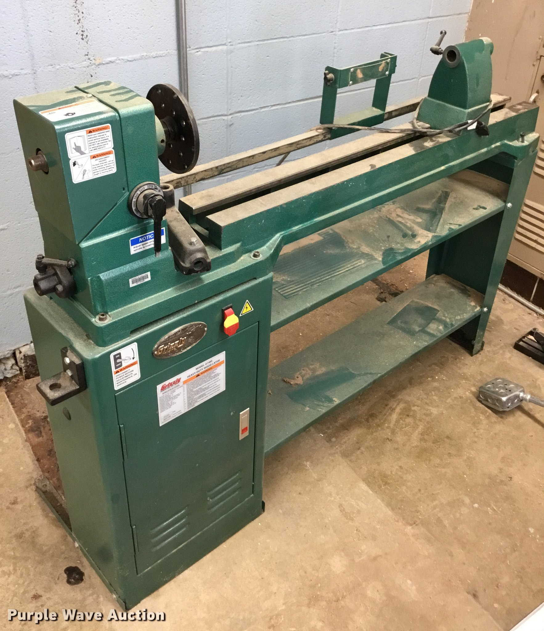 Serious Wood Lathe