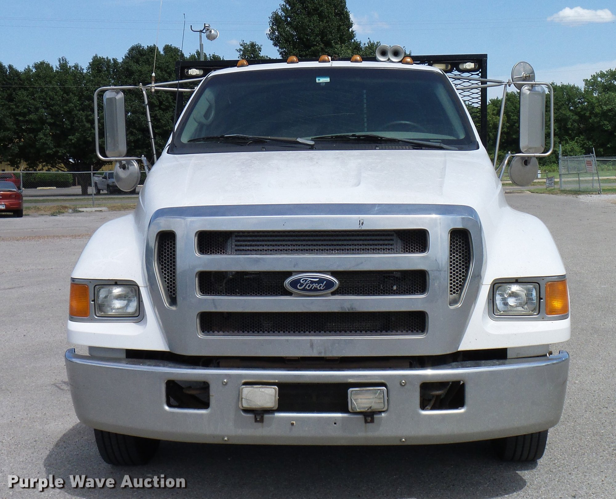 hight resolution of ford f650 super duty xlt flatbed truck full size in new window