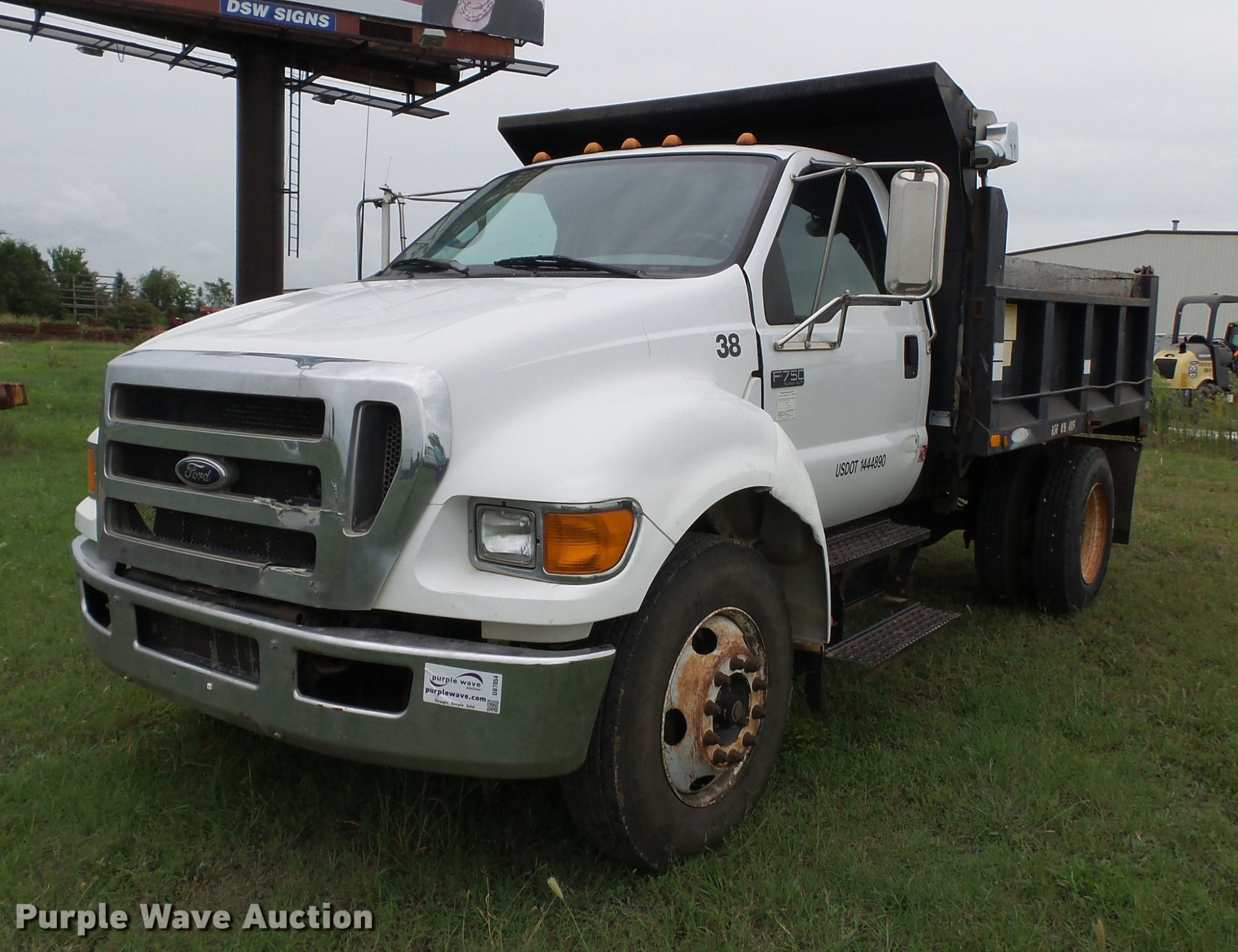 hight resolution of db7054 image for item db7054 2005 ford f750