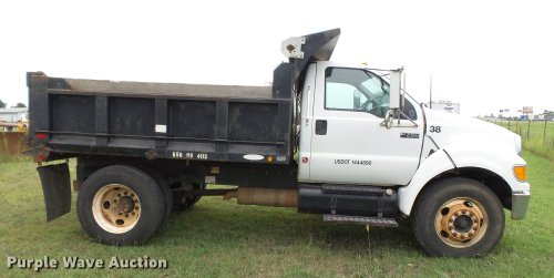 small resolution of  2005 ford f750 super duty dump truck full size in new window