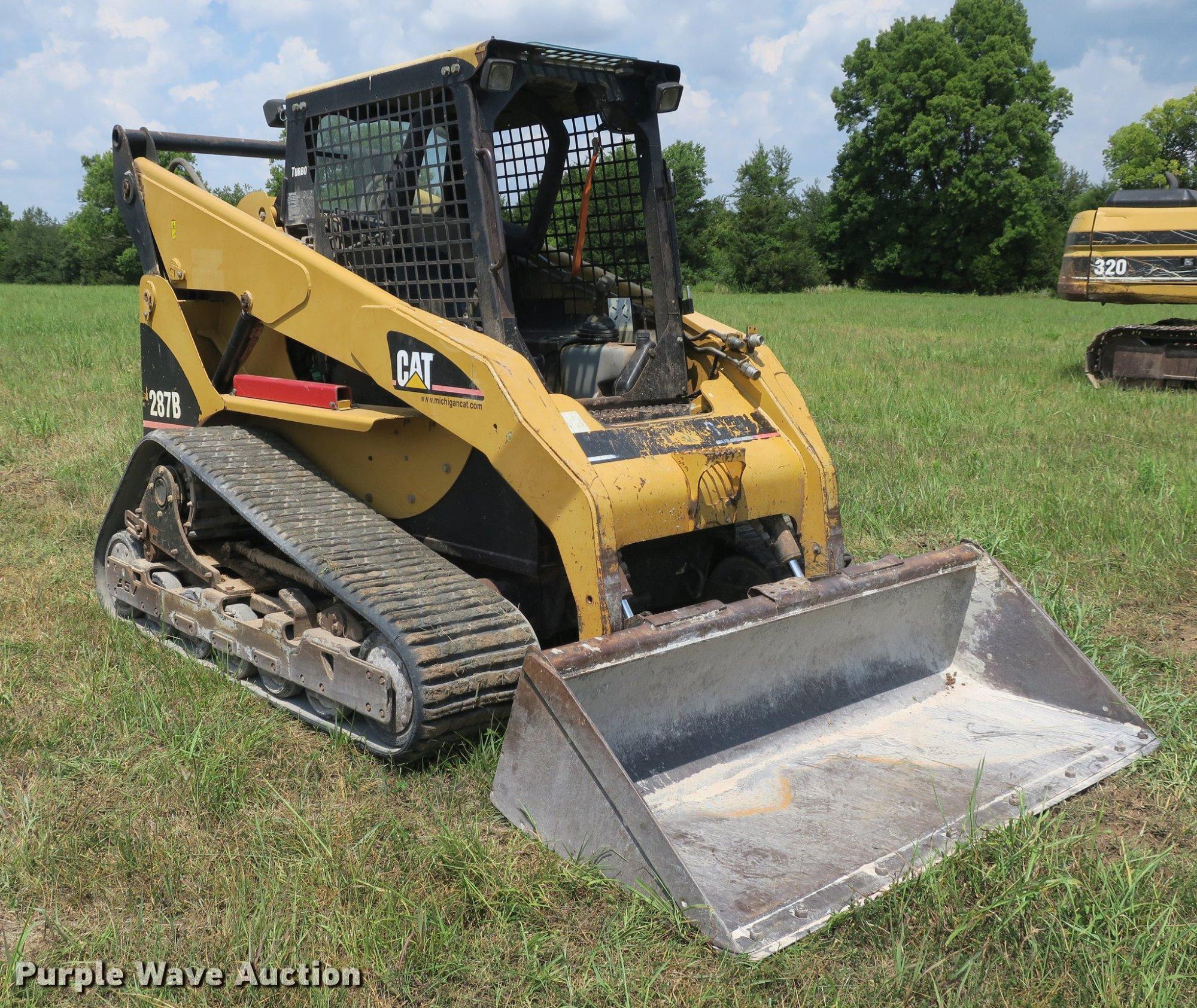 hight resolution of caterpillar skid steer item de sold septe jpg 2048x1726 cat 287b electrical