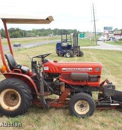 yanmar ym186d mfwd tractor full size in new window  [ 2048 x 1324 Pixel ]