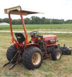 yanmar ym186d mfwd tractor full size in new window  [ 2048 x 1874 Pixel ]