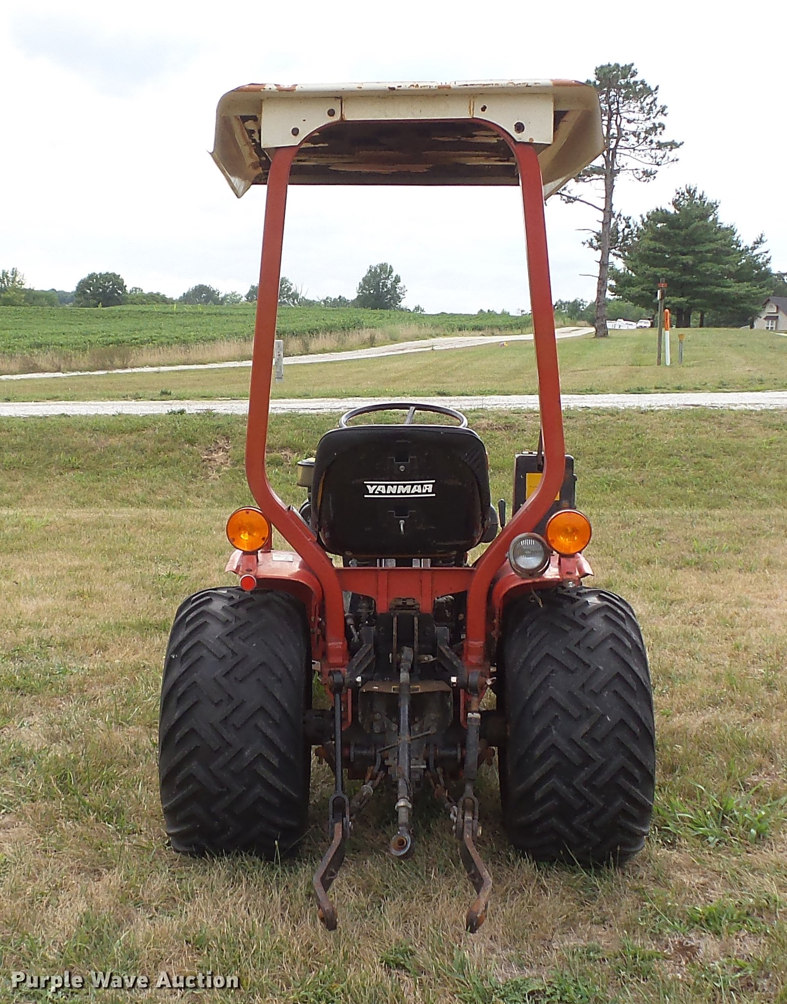 hight resolution of  yanmar ym186d mfwd tractor full size in new window