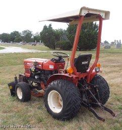 yanmar ym186d mfwd tractor full size in new window  [ 2048 x 2038 Pixel ]