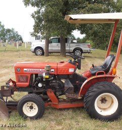 yanmar ym186d mfwd tractor full size in new window  [ 2048 x 1501 Pixel ]