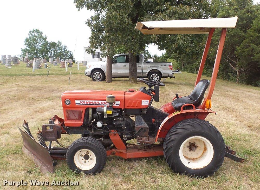 medium resolution of  yanmar ym186d mfwd tractor full size in new window