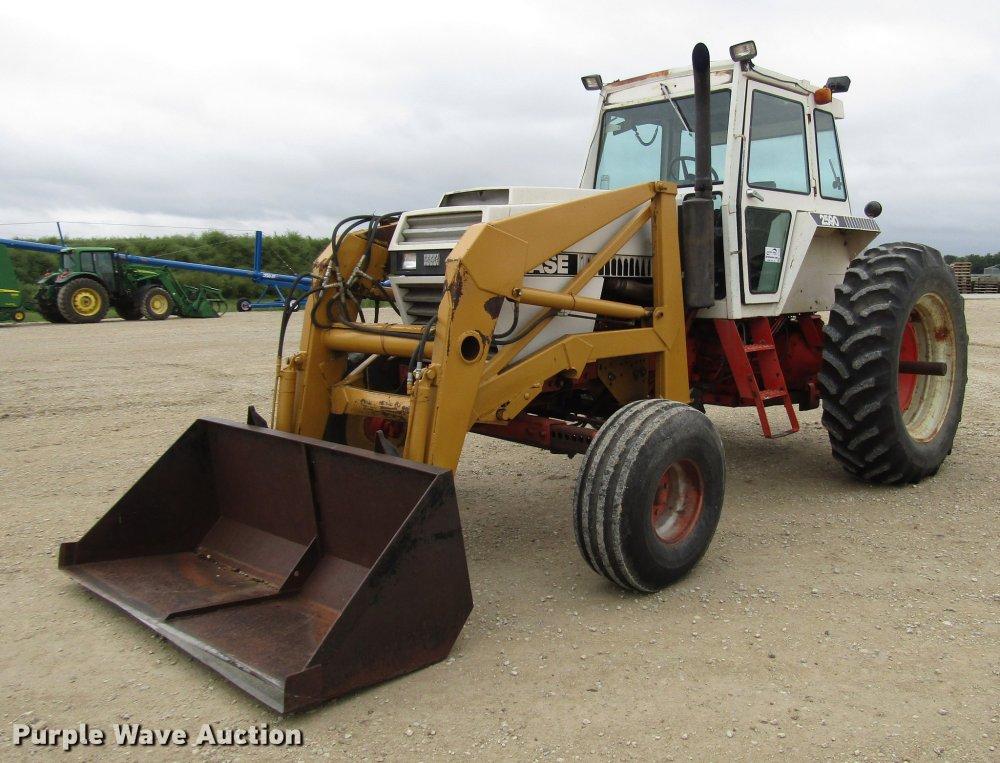 medium resolution of dd4292 image for item dd4292 1979 case 2590 tractor