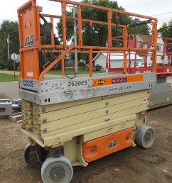 dx9130 image for item dx9130 2005 jlg 2630es scissor lift [ 1728 x 2048 Pixel ]