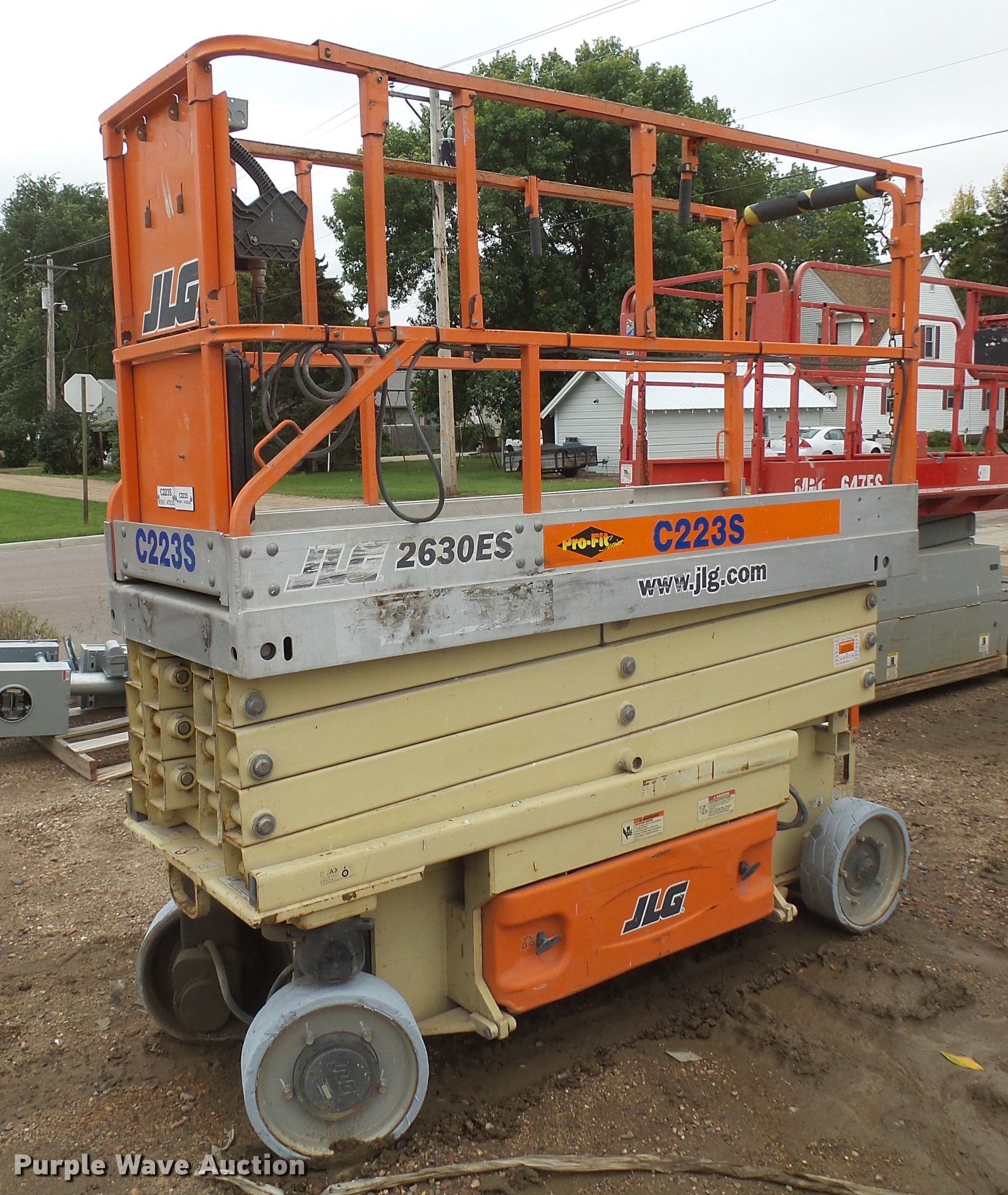 hight resolution of 2005 jlg 2630es scissor lift for sale in south dakota