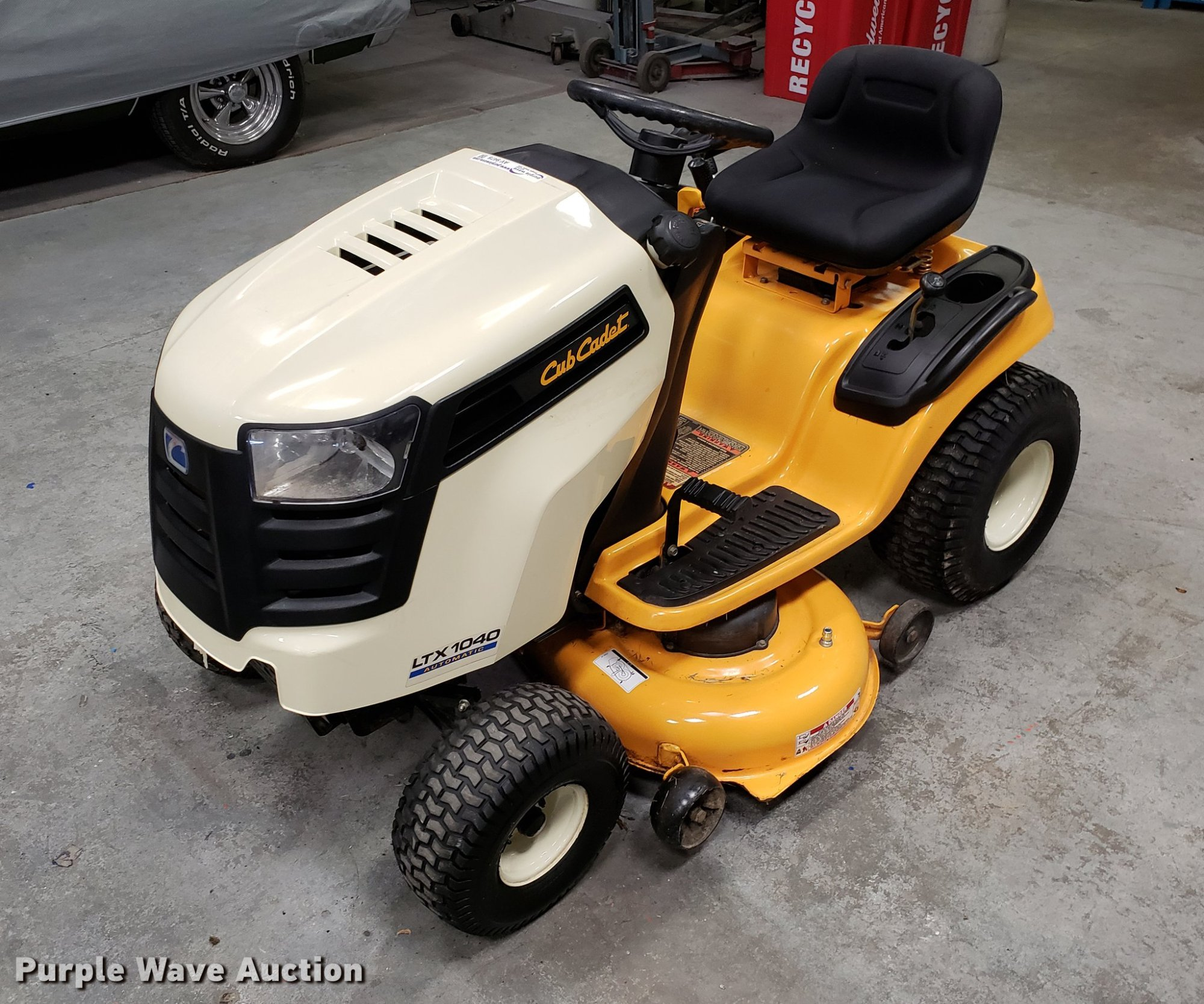 hight resolution of cub cadet ltx1040 lawn mower for sale in missouri