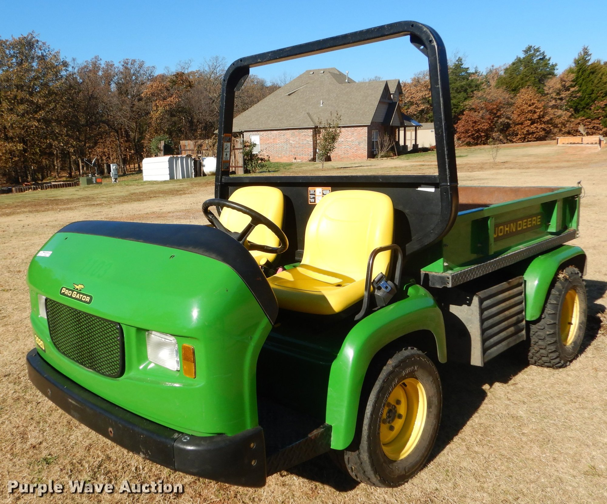 hight resolution of  2006 john deere pro gator 2020 utility vehicle item ew9668 john deere 1999 s10 fuel pump wire harness