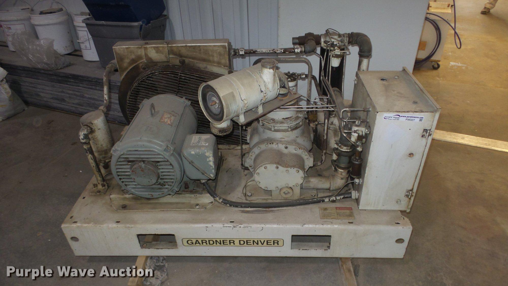 hight resolution of gardner denver ebergf compressor for sale in kansas