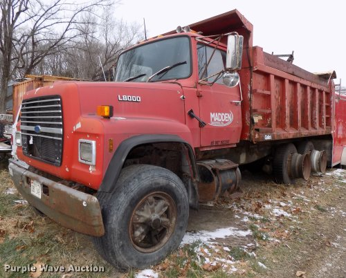 small resolution of 1987 ford l8000 dump truck for sale in nebraska