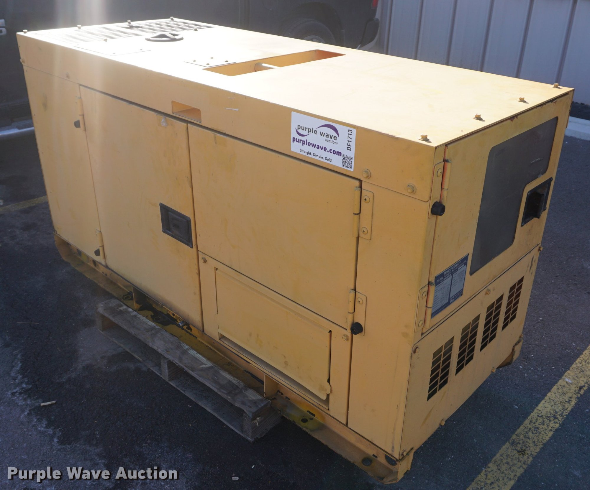 hight resolution of multi quip dca25ssiu generator for sale in kansas