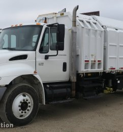 db8923 image for item db8923 2005 international 4300 recycling truck [ 2048 x 1111 Pixel ]