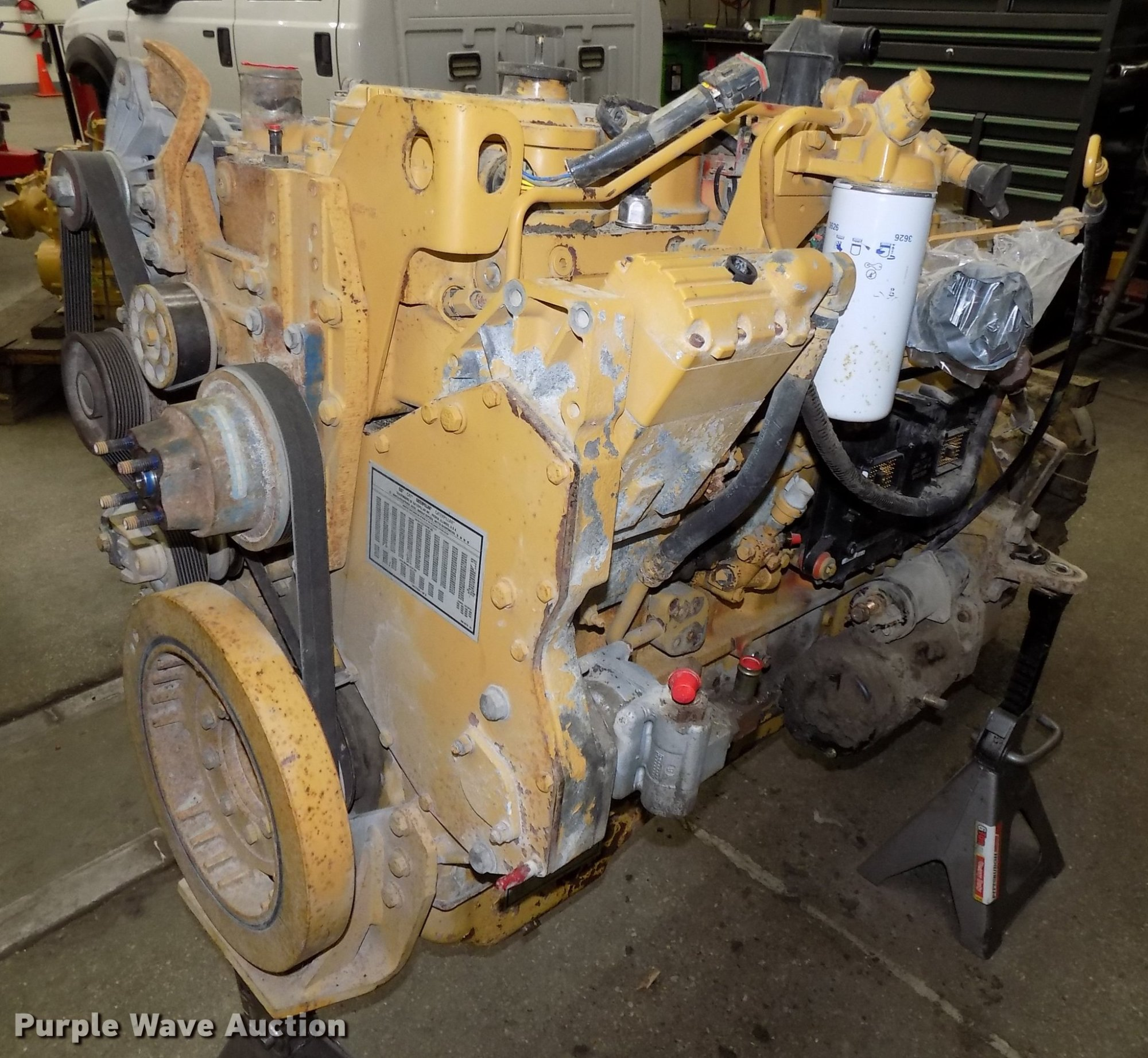 hight resolution of 2002 caterpillar 3126 7 2l l6 turbo diesel engine for sale in nebraska