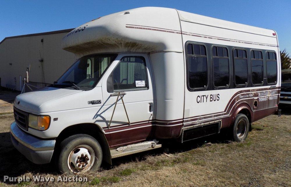 medium resolution of dd3686 image for item dd3686 2002 ford econoline e450 shuttle bus