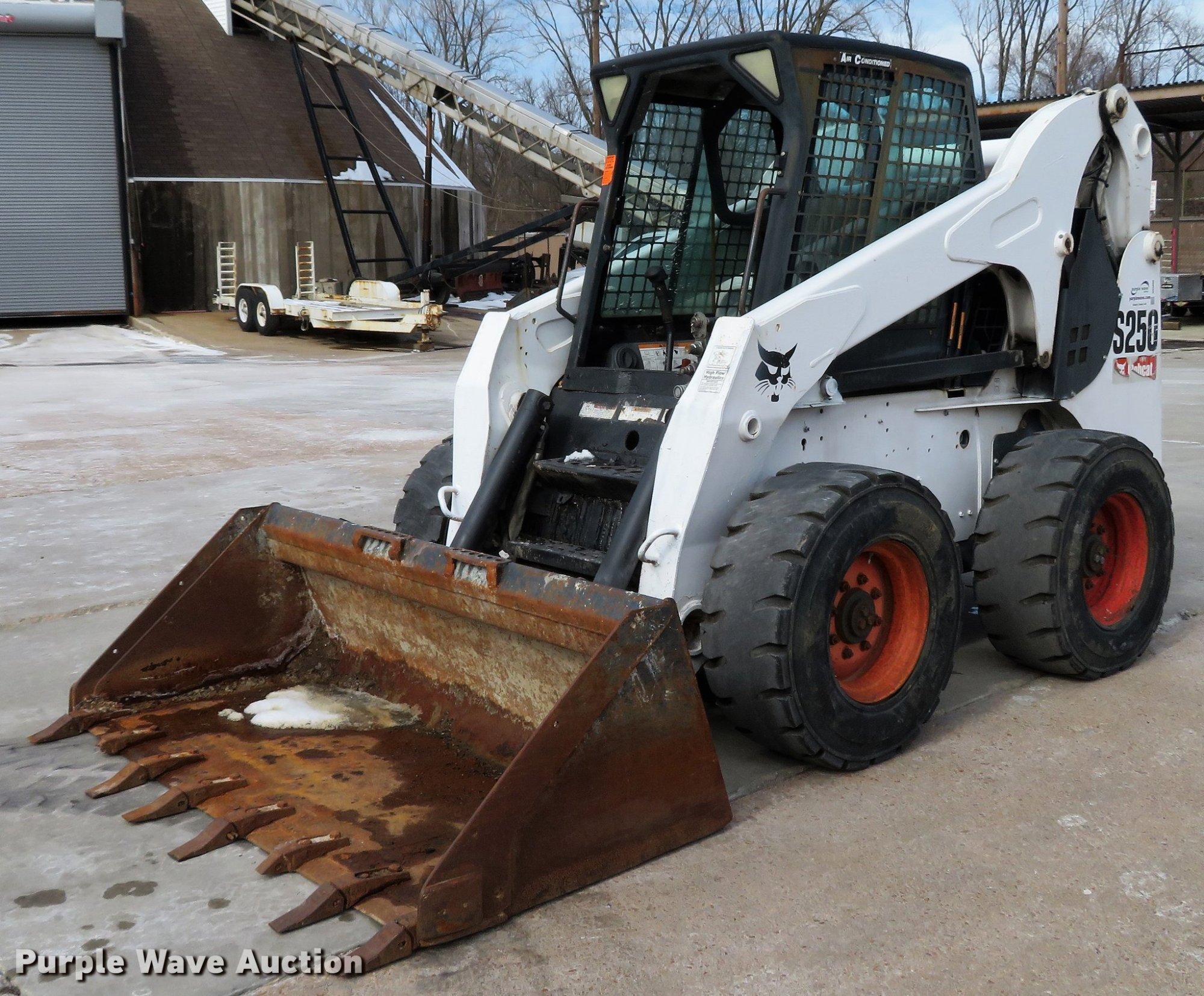 hight resolution of 2006 bobcat s250 skid steer for sale in missouri