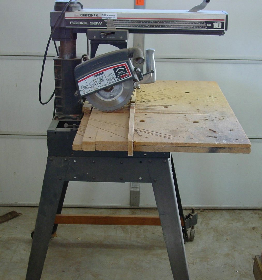 10 Radial Arm Saw