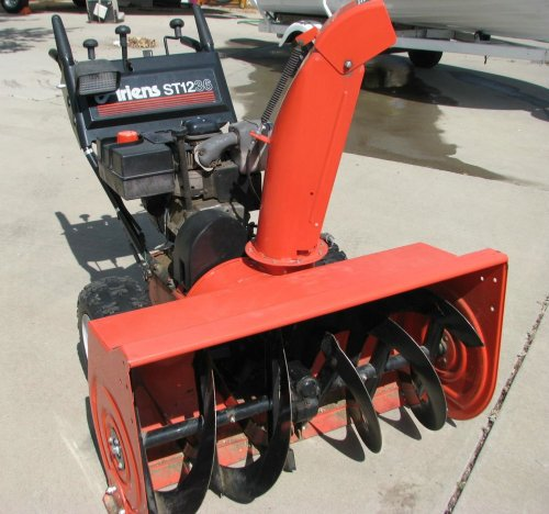 small resolution of 5051 image for item 5051 ariens st1236 36 snow thrower