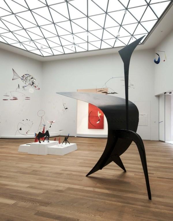Calder In Tower National Of Art Washington